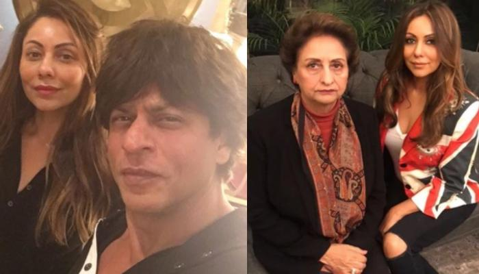 Gauri Khan And Shah Rukh Khan's Throwback Picture With Her Mom, Savita Chibber Proves 'Old Is Gold'