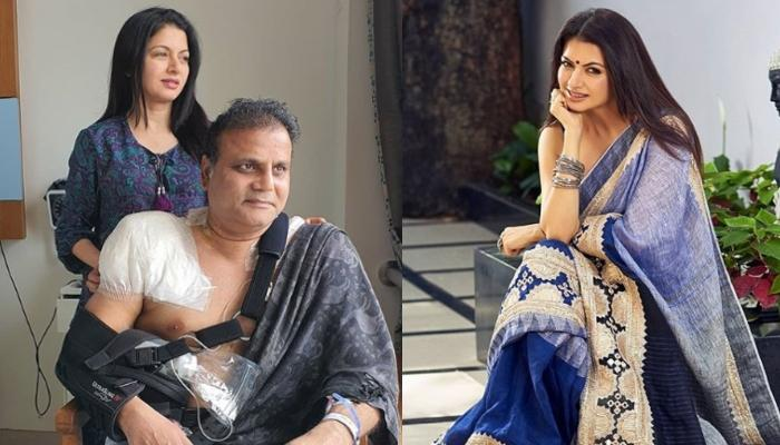 Bhagyashree Shares A Note On Hubby, Himalaya Dasani's Surgery, Pens A Note For The Hospital Staff