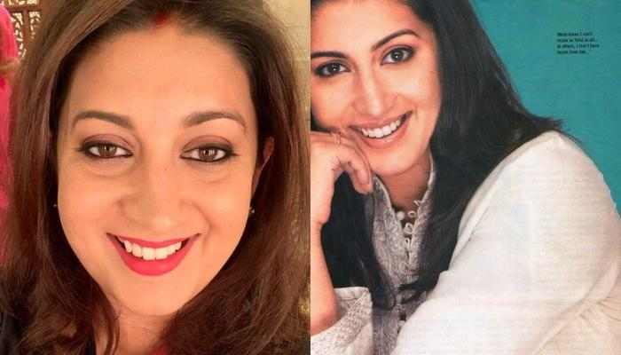 Smriti Irani Shares A Throwback Picture From Her Modelling Days Found By Her Mother