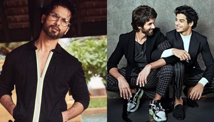 Shahid Kapoor Tries The 'Blue Eyes Filter' And His Brother, Ishaan Khatter Posts A Hilarious Comment