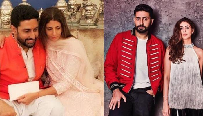 Abhishek Bachchan Wishes Sister, Shweta Bachchan Nanda On 'Raksha Bandhan' With This Hilarious Photo