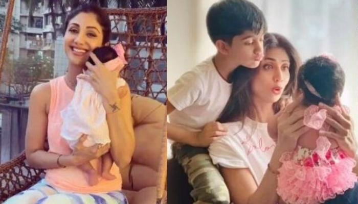 Shilpa Shetty Kundra Shares Dreamy Picture From Kids, Samisha And Viaan Raj's First 'Raksha Bandhan'
