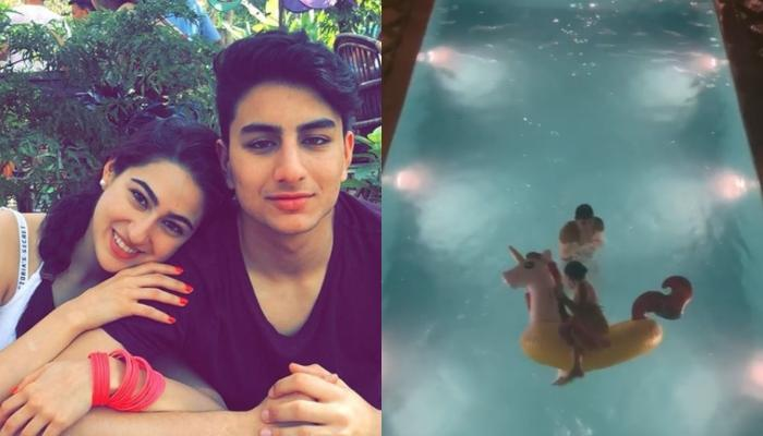 Sara Ali Khan Shares A Hilarious Video Of Brother, Ibrahim Ali Khan And We Couldn't Stop Giggling