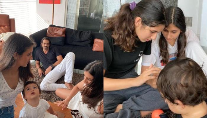 Arjun Rampal Misses His Sister, Shares Photos Of His Kids, Mahikaa, Myra And Baby Arik Tying Rakhi