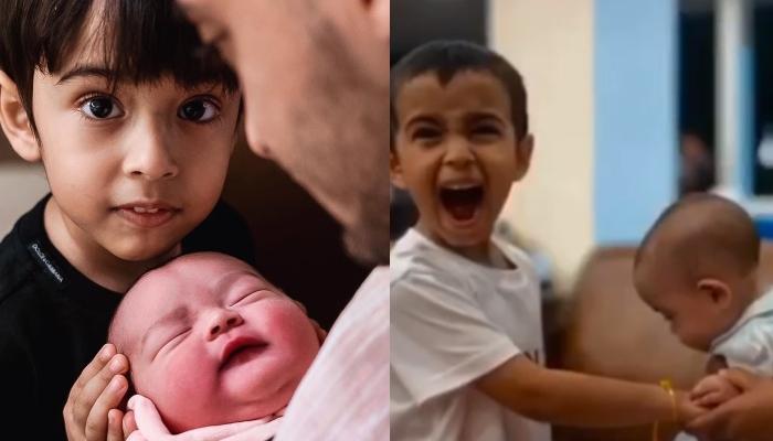 Arpita Khan Sharma Shares A Video Of Her Daughter, Ayat's First Rakhi Celebrations