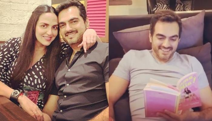 Esha Deol Takhtani's Hubby Bharat Takhtani Gives His Feedback On Her Book 'Amma Mia', Shares A Video