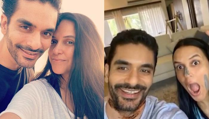 Angad Bedi Pulls A Coffee Prank On Wifey, Neha Dhupia And It Is Every Husband Ever