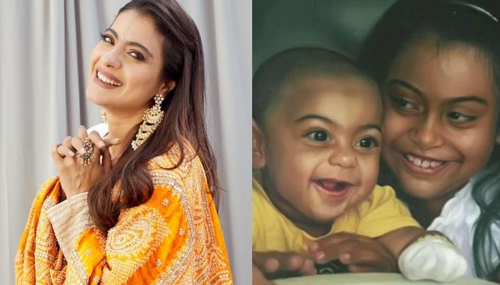 Kajol Devgan Is A Super Mommy For Her Kids, Nysa Devgan And Yug Devgan