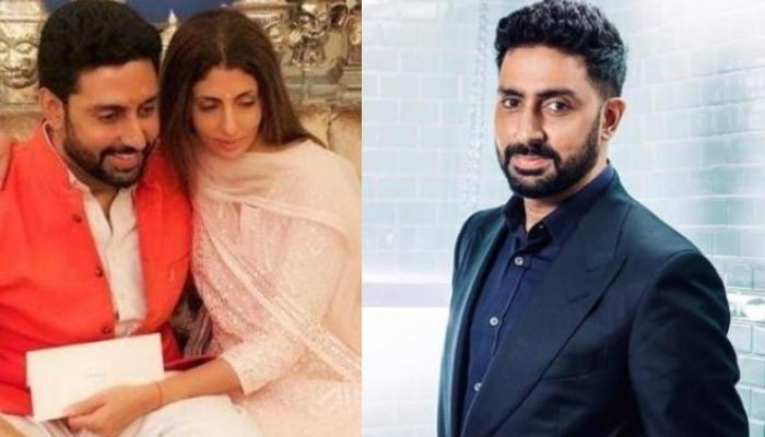 Abhishek Bachchan Looks At The Bright Side Of Life, Sister Shweta Nanda Shares An Unmissable Comment