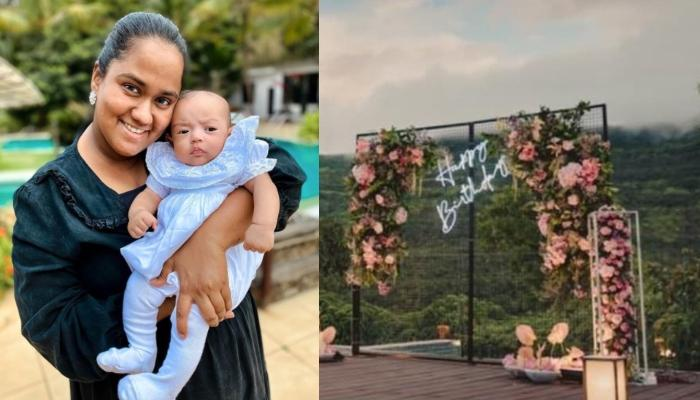 Arpita Khan Sharma Twins With Her 8-Month-Old Daughter, Ayat Sharma In Florals On Her 31st Birthday