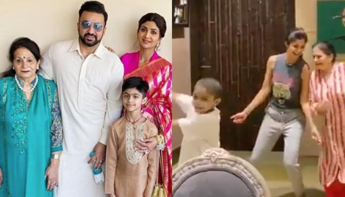 Shilpa Shetty Grooves To 'Sauda Khara Khara' With Mom-In-Law On Her Birthday, Viaan Kundra Joins Too