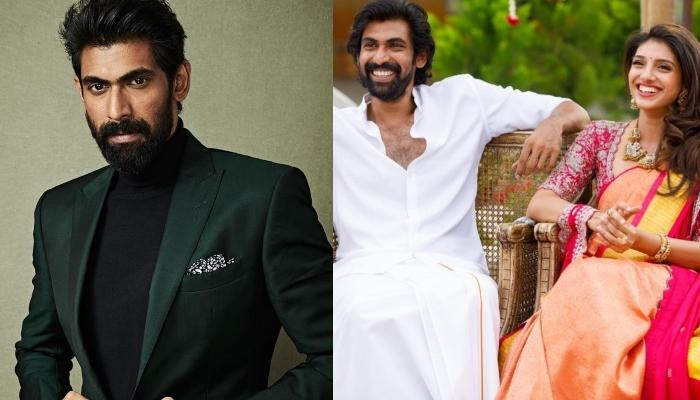 Rana Daggubati Shares A Picture With Soon-To-Be-Missus, Miheeka Bajaj From Their Haldi Ceremony