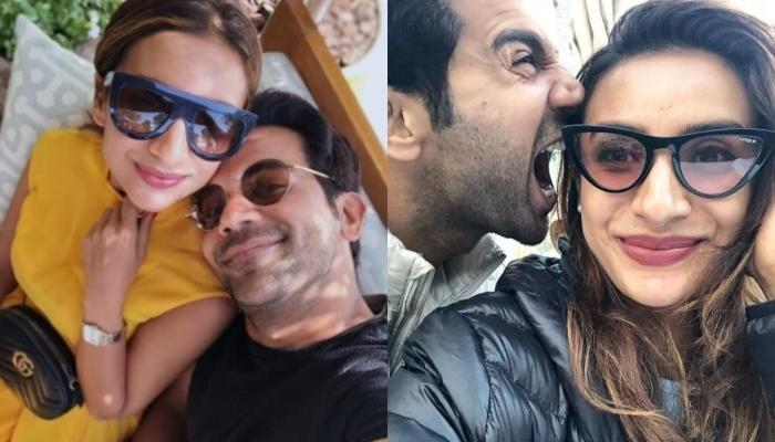 Rajkummar Rao Enjoys A Game Of Chess With Girlfriend, Patralekhaa, Shares A Snap Of Their Game