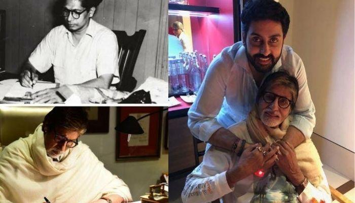 Big B Motivates Son, Abhishek To Fight Back COVID-19 With Father, Harivansh Rai Bachchan's Poem