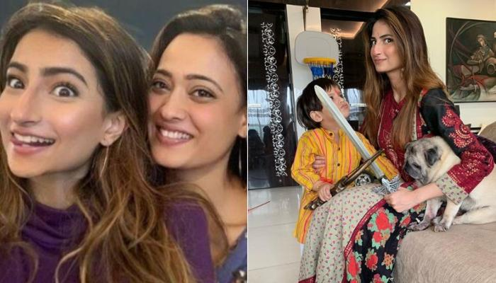 Shweta Tiwari's Daughter, Palak Tiwari Shares A Cute Video Of Her Baby Brother And Their Pooch