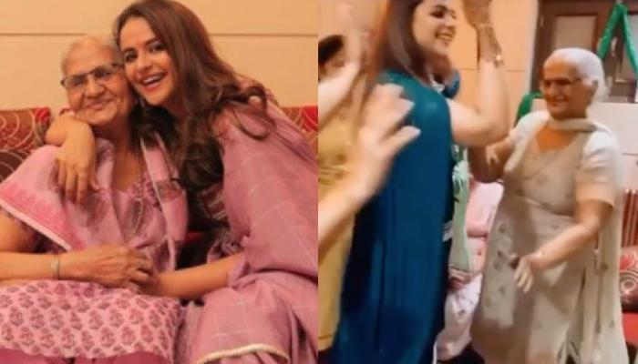 'Diya Aur Baati Hum' Fame Prachi Tehlan's Unqiue Mehendi Outfit, Her Dance With Nani Steals The Show