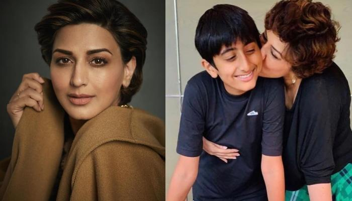 Sonali Bendre Borrows Her Son, Ranveer Behl's Shoes, Refuses To Give It Back