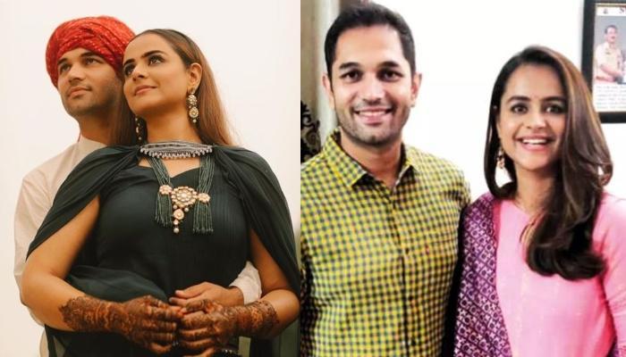 'Diya Aur Baati Hum' Fame, Prachi Tehlan Ties Knot With Businessman, Rohit Saroha [Pictures Inside]