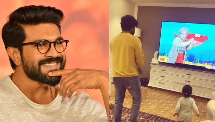 South Actor, Ram Charan Grooves With Niece, Navishka On The 'Baby Shark' Song In This Adorable Video