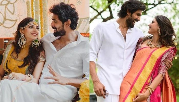 Rana Daggubati Is 'Ready' To Tie The Knot With Miheeka Bajaj, Looks Dapper In An Off-White Attire