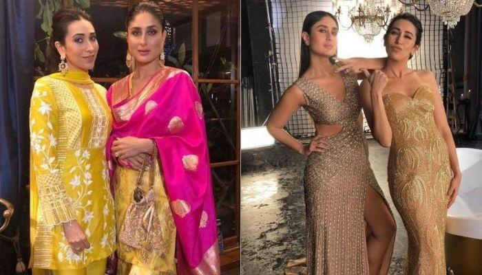 Karisma Kapoor Twinned With Sister, Kareena Kapoor In Multi-Coloured Skirt, Calls It Sister Thing