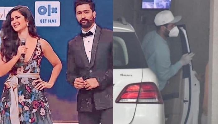 Vicky Kaushal Snapped Outside Rumoured Girlfriend, Katrina Kaif's Residence