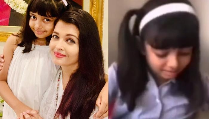 Aaradhya Bachchan Says 'Dhanyawaad Miss' As She Takes Online Hindi Class Amidst The Pandemic [VIDEO]