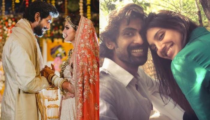 Rana Daggubati And Miheeka Bajaj's Picture From A Pre-Wedding Ceremony Bursts Of Happiness And Love