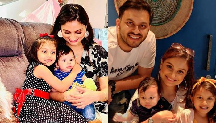 Dimpy Ganguly Shares An Adorable Picture Of Her Goofball, Aryaan, Says How Mischievous Has He Become