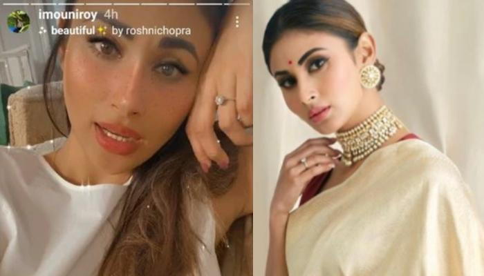 Mouni Roy Flaunting A Diamond Ring In An Instagram Story Makes Us Wonder If She Secretly Got Engaged