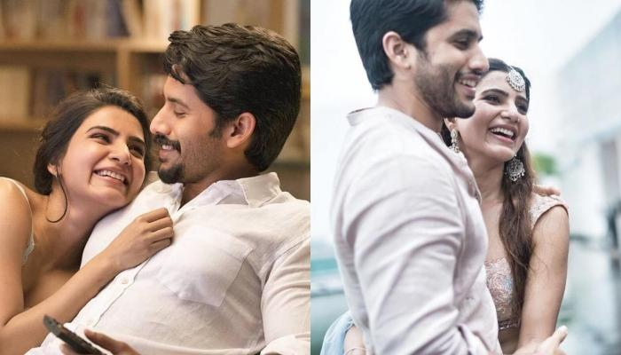 Samantha Akkineni Shares A Beautiful Picture With Hubby, Naga Chaitanya, He Bathes Her In Flowers