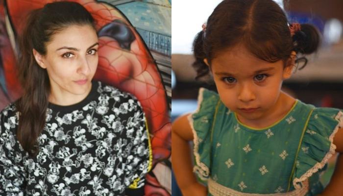 Soha Ali Khan Shares A Glimpse Of Her Angel, Inaaya Naumi Kemmu Intently Engrossed In Her Book