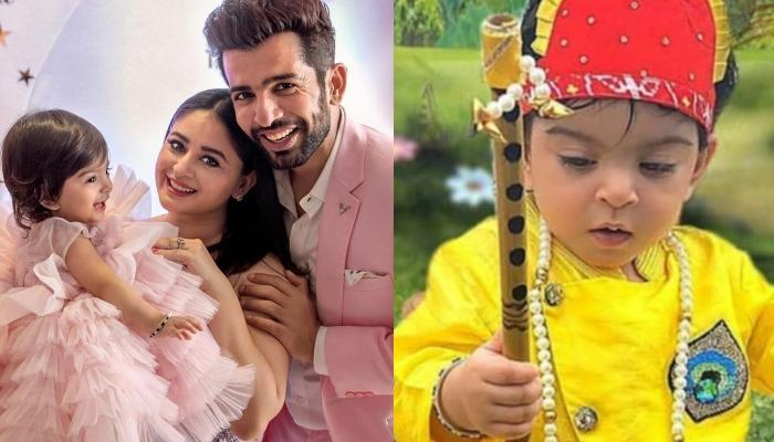 Jay Bhanushali And Mahhi Vij's Daughter, Tara Turns Little 'Kanhaiya' On The Occasion Of Janmashtami