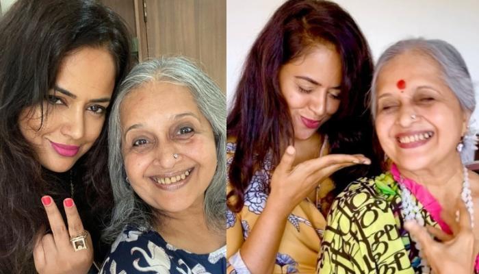 Sameera Reddy And Her 'Saasy Saasu' Take A Fun Challenge, Reveal Who Does Akshai Varde Listens To