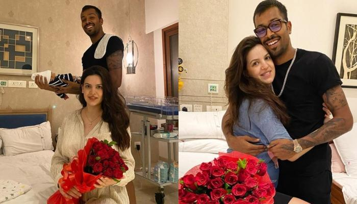 Natasa Stankovic And Hardik Pandya Share Glimpses Of Their Baby Boy, Latter Calls Him His Blessing