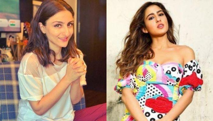 Bua, Soha Ali Khan Shares An Unrecognisable Picture With Sara Ali Khan To Wish Her On 25th Birthday