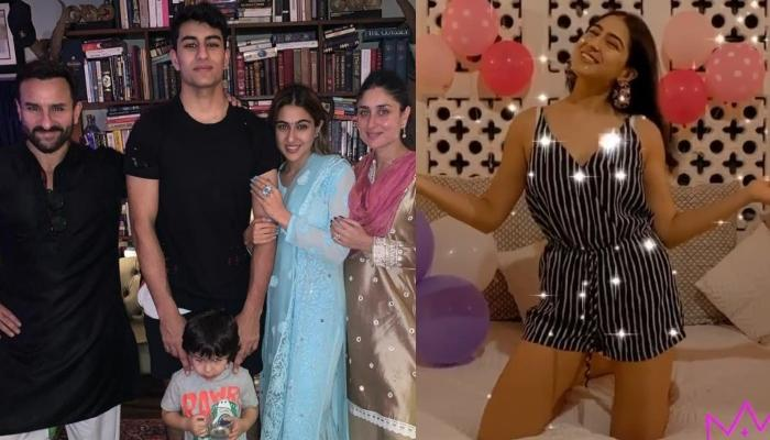 Kareena Kapoor Wishes Sara Ali Khan On 25th Birthday With A Throwback Photo With Abba, Saif Ali Khan