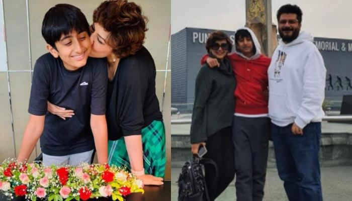 Sonali Bendre And Goldie Behl Pen Adorable Wishes For Their Son, Ranveer Behl On His 15th Birthday
