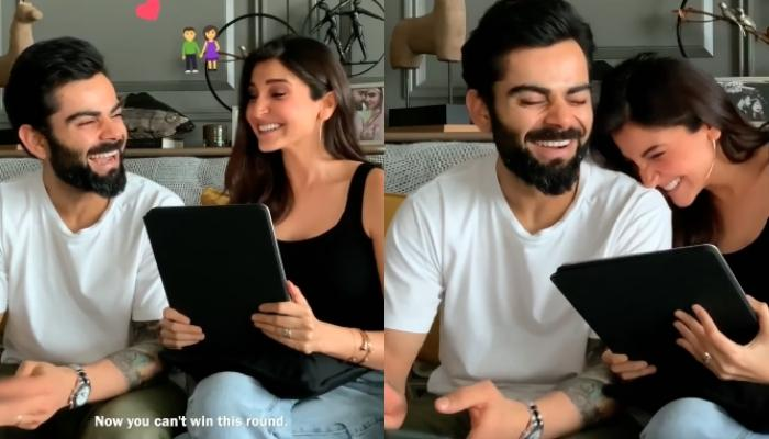 Anushka Sharma Reveals Hubby Virat Kohli Makes Her Happy, His Reaction Is Too Sweet To Miss [VIDEO]