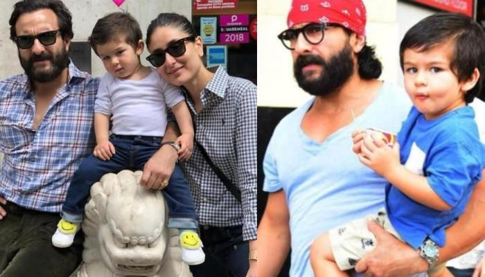Saif Ali Khan Revealed How He Loved His 'Space' When Kareena Once Took Taimur For An Outdoor Shoot