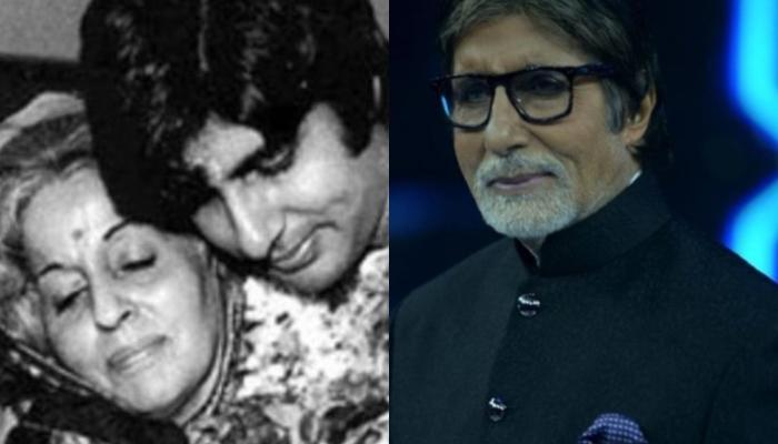 Amitabh Bachchan Plants A Gulmohar Tree On His Mother, Teji Bachchan's Birth Anniversary
