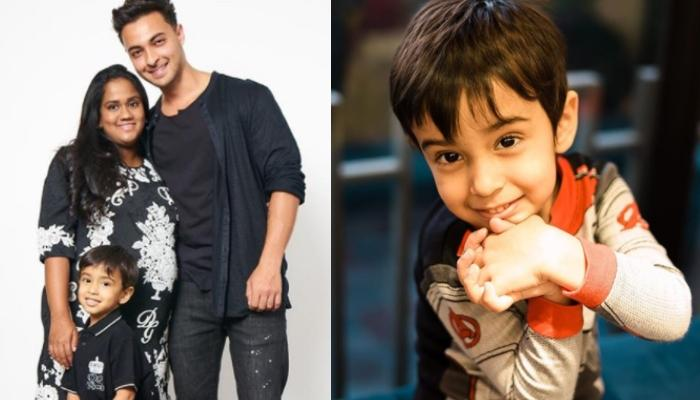 Arpita Khan And Aayush Sharma's Son, Ahil Sharma Looks Adorable As He Protects Himself From COVID-19