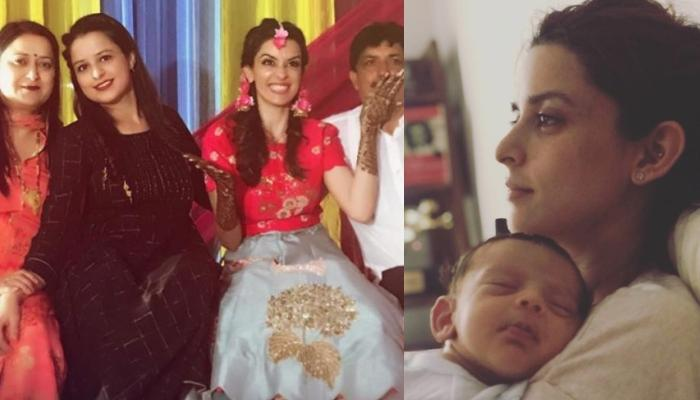 Ekta Kaul And Newborn Son's Family Picture With Kaul Clan, Ved's Smile Will Cheer You Up Right Away!