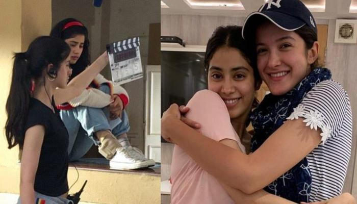 Shanaya Kapoor Learnt The Ropes On Sister Janhvi Kapoor's 'Gunjan Saxena' Sets As Assistant Director