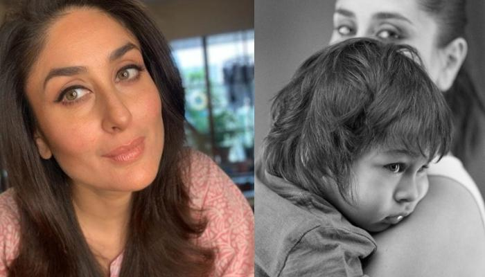 Kareena Kapoor Shares An Adorable Monochrome Picture Of Taimur Ali Khan Holding The National Flag