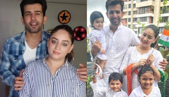 Jay Bhanushali And Mahhi Vij Celebrate Independence Day With Tara, Rajveer And Khushi, Look Adorable