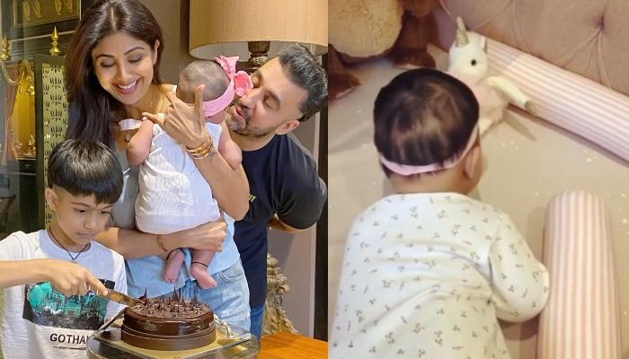 Shilpa Shetty Kundra Celebrates Her Baby Girl, Samisha's 'Half' Birthday With A Unique Cake