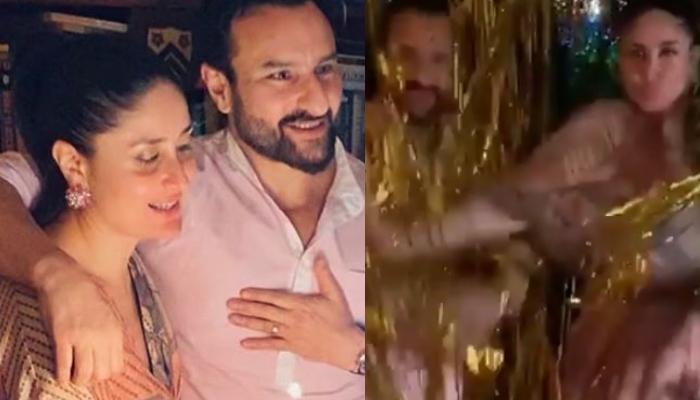 Kareena Kapoor Khan Shares Glimpses Of Saif Ali Khan's Birthday Bash, Flaunts Her Baby Bump