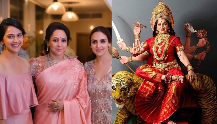 Hema Malini Collaborates With Her Daughters Esha Deol And Ahana Deol For The First Time To Sing Song