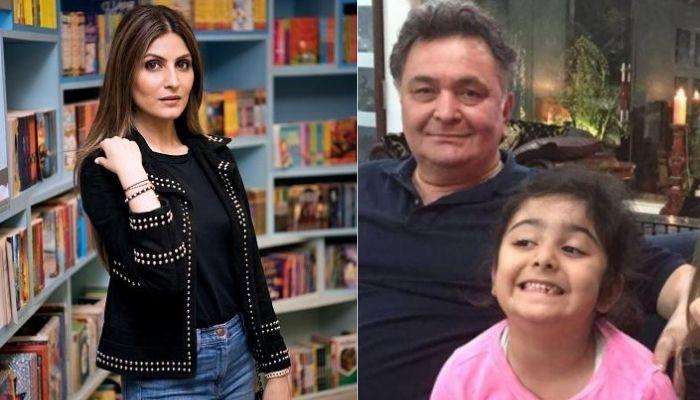 Riddhima Kapoor Shares A Family Photo, The Bond Between Rishi Kapoor And Samara Steals The Limelight